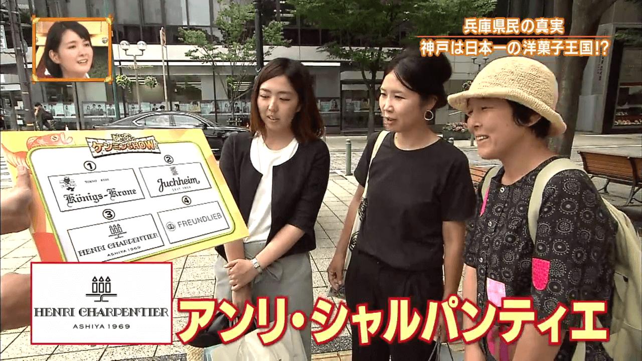 兵庫県民、神戸市民は神戸洋菓子ブランド名を言えるか