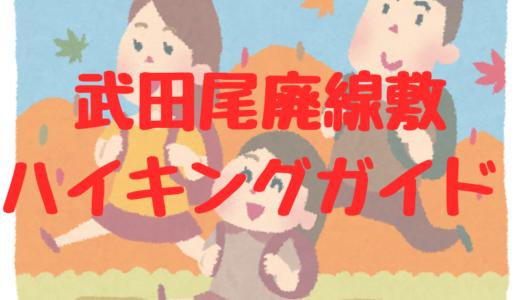 【ハイキングルートガイド】武田尾廃線敷の行き方、歩き方、見どころ