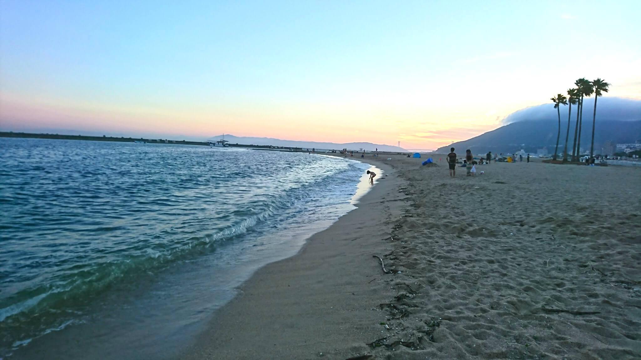 須磨海水浴場(須磨海岸)
