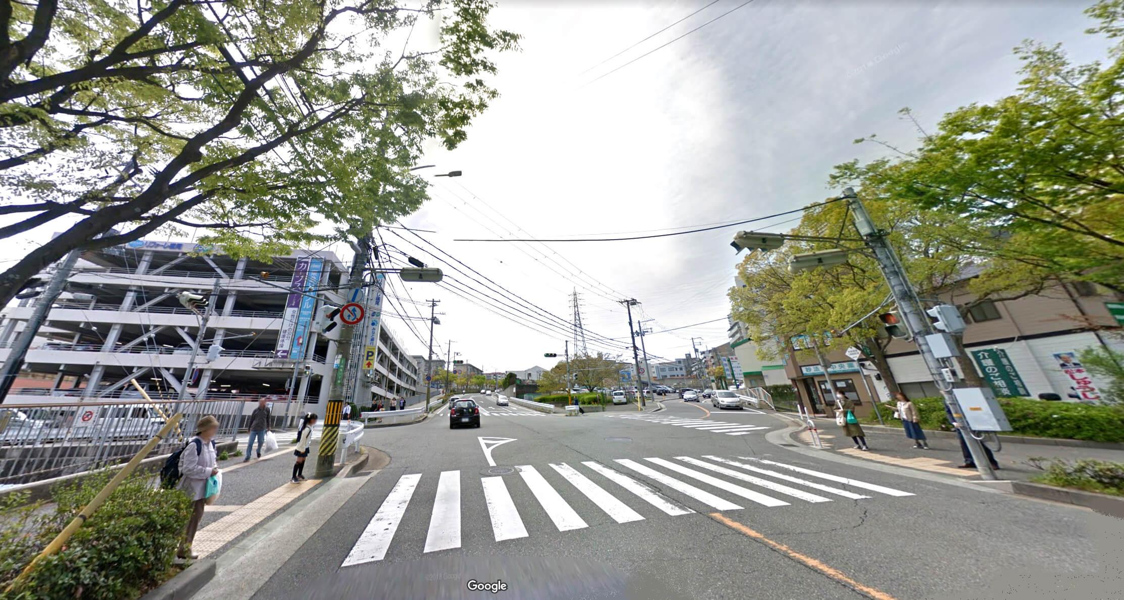 神戸市須磨区の妙法寺駅周辺