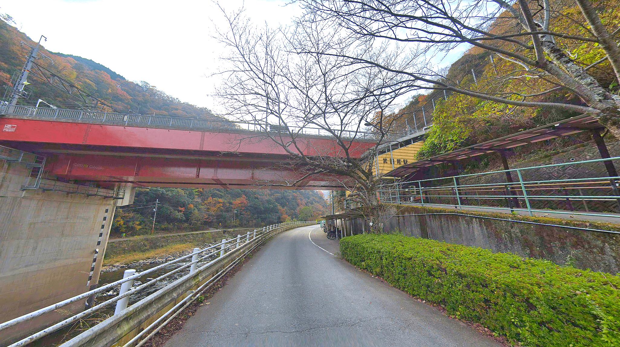 武田尾温泉の別邸あざれと足湯への行き方