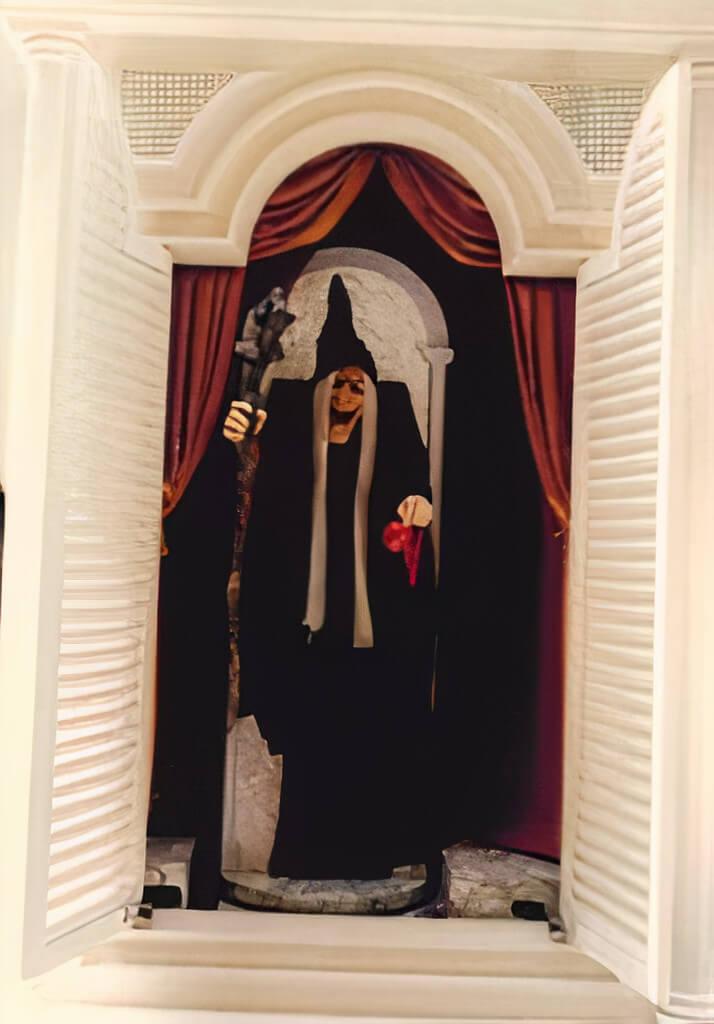 須磨パティオにある時計台、1代目の白雪姫