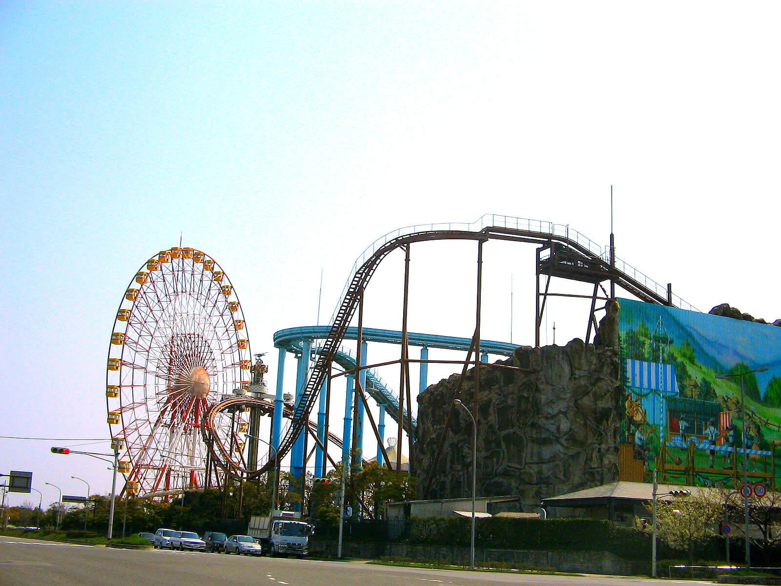 神戸ポートピアランド遊園地アトラクション