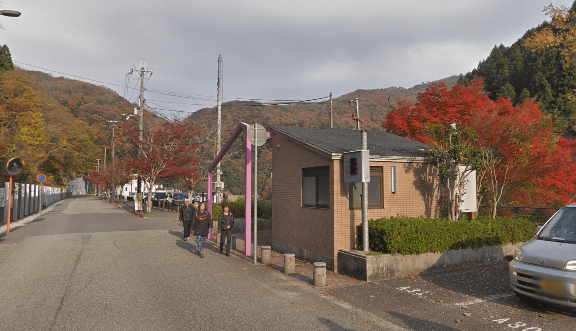武田尾駅や武田尾温泉から廃線敷までのルート
