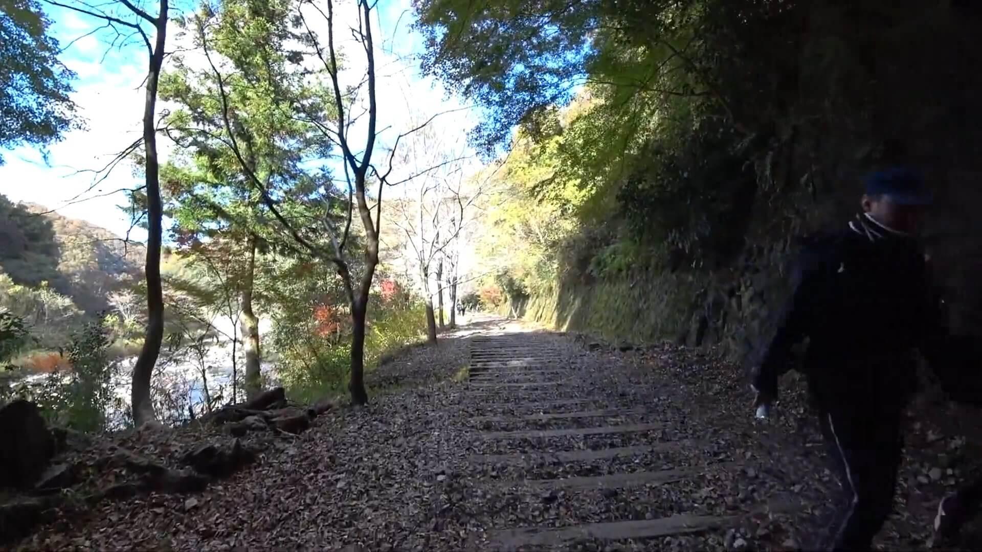 武田尾廃線敷の長尾山第2トンネル出口